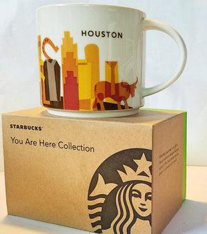 Starbucks Been There Series Collection Houston Texas Coffee Mug New With Box