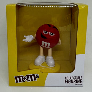 M&M's World Red Collectible Figurine New With Box
