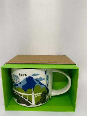 Starbucks You Are Here Collection Bern Switzerland Ceramic Coffee Mug New Box