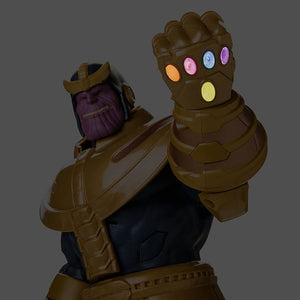 Disney Marvel Thanos Talking Action Figure New with Box