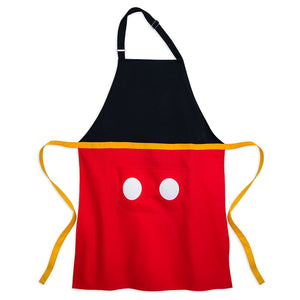 Disney Parks Mousewares Mickey Kitchen Apron for Adults New with Tags