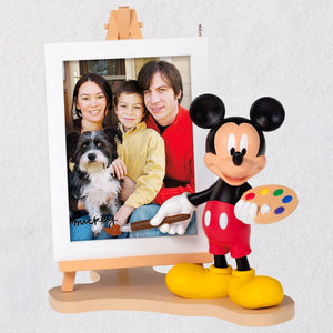Hallmark Disney Mickey Mouse Picture Perfect Photo Frame Ornament New with Box