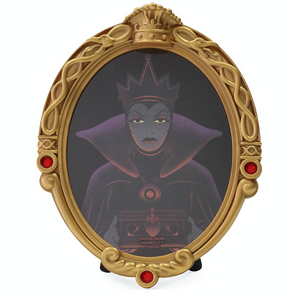 Disney Parks Halloween Magic Mirror Snow White Evil Queen Photo Frame New
