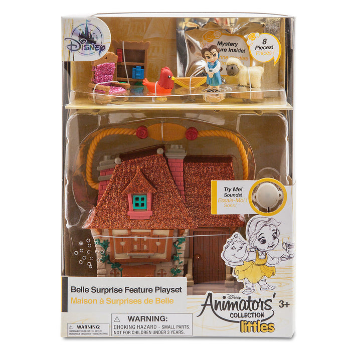 Disney Animators Little Collection Belle Surprise Feature Playset Beauty Beast