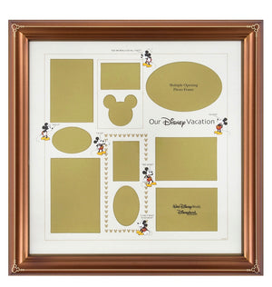 Disney Parks Mickey Family Vacation Collage Picture Photo Frame New