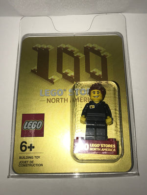 Lego Exclusive Minifigure 100 Stores In North America New Factory Sealed