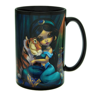 Disney Parks Wondergroundgallery Jasmine Becket Griffith Coffee Mug New