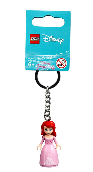 Lego Disney Princess Ariel The Little Mermaid 853954 Key Chain New with Tag