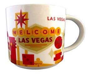 Starbucks You Are Here Collection Las Vegas Nevada Ceramic Coffee Mug New