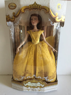 Disney Store Belle Limited Edition Doll Live Action Film 17'' New with Box