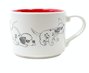 Disney Dalmatian Patch Animation Sketch Ceramic Coffee Mug New