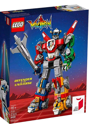 Lego Ideas Voltron Defender of the Universe Set 21311 New with Box
