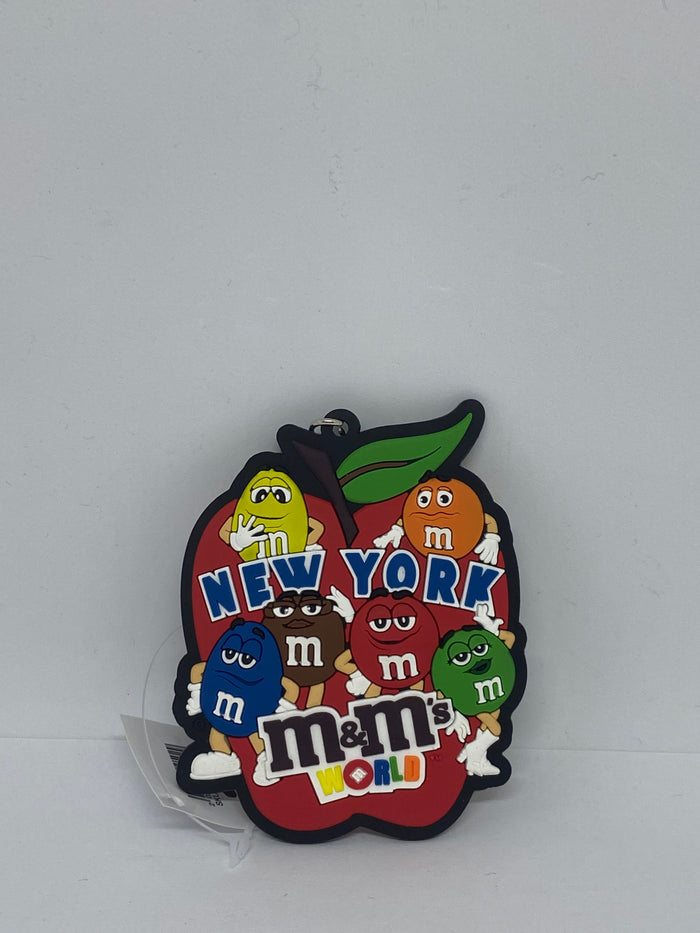 M&M's World Characters New York Big Apple Keychain New with Tags