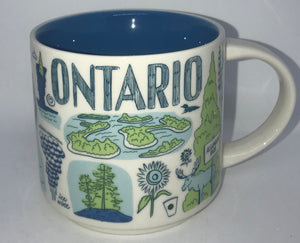 Starbucks Been There Series Collection Canada Ontario Coffee Mug New With Box