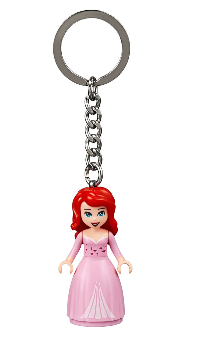Lego Disney Princess Ariel The Little Mermaid 853954 Key Chain New Wit I Love Characters