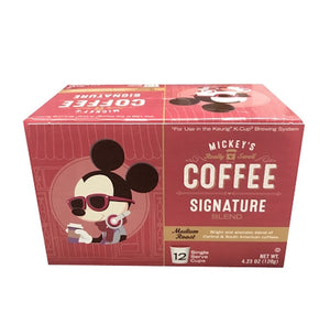 Disney Mickey's Coffee Signature Roast Medium Roast 12 Keurig K-Cup New Sealed
