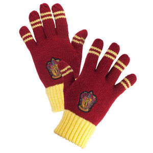 Universal Studios Wizarding World of Harry Potter Gryffindor Striped Gloves New