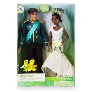 Disney Tiana And Naveen Classic Wedding Doll Set The Princess and the Frog New