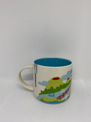Starbucks You Are Here Collection Haikou China Ceramic Coffee Mug New With Box