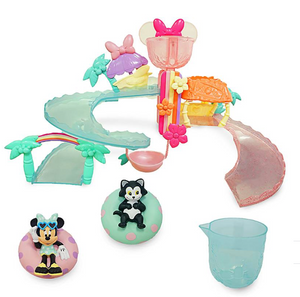 Disney Minnie Mouse Water Park Bath Play Set New with Box