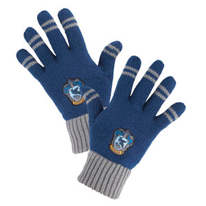 Universal Studios Wizarding World of Harry Potter Ravenclaw Striped Gloves New