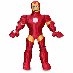 Disney Store Iron-Man 15 inc Poseable Plush Doll New with Tags