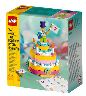 Lego 40382 Birthday Cake Set New with Box