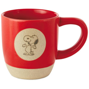 Hallmark Peanuts Snoopy Top Dog 12 oz Coffee Ceramic Mug New