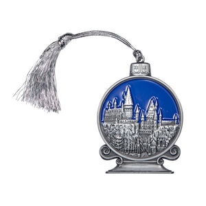 Universal Studios Harry Potter Hogwart Castle Metal Ornament Ornament New Tag