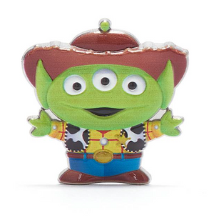 Disney Toy Story Alien Pixar Remix Pin Woody Limited Release New with Box