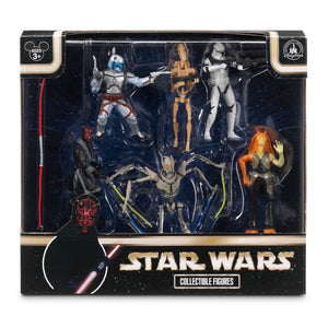 disney parks star wars prequel collection playset cake topper new with box