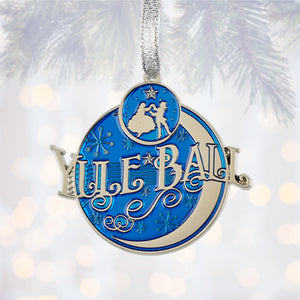 Universal Studios Harry Potter Yule Ball Metal Christmas Ornament New with Tag