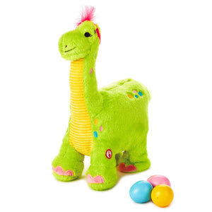 Hallmark Easter Egg Layin' Dino Plush with Motion New with Tags