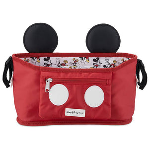 Disney Parks Walt Disney World Mickey Mouse Stroller Organizer New with Tag