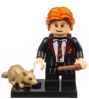 Lego Harry Potter Fantastic Beasts Minifigures Ron in School Robes New Opened