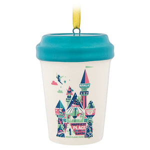 Disney Parks Starbucks Been There Disneyland Cup Tumbler Ornament New with Tag