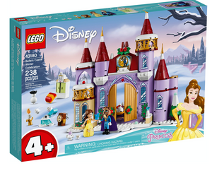 Lego 43180 Disney Princess Belle's Castle Winter Celebration Set New with Box