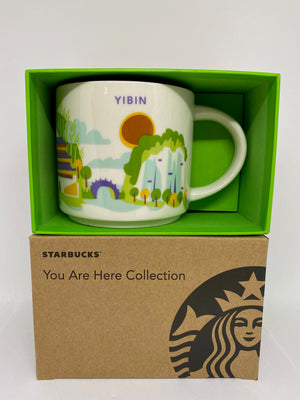 Starbucks You Are Here Collection Yibin China Ceramic Coffee Mug New With Box
