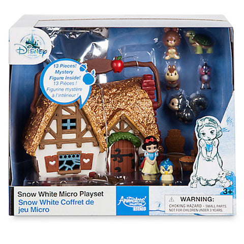 Disney Animators' Collection Snow White Micro Playset Play Set New with Box