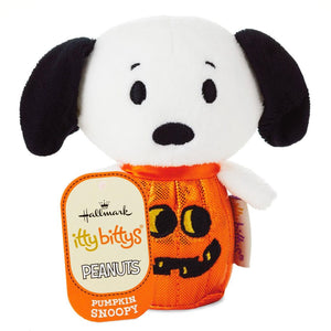 Hallmark Peanuts Halloween Pumpkin Snoopy Itty Bittys Plush New with Tag