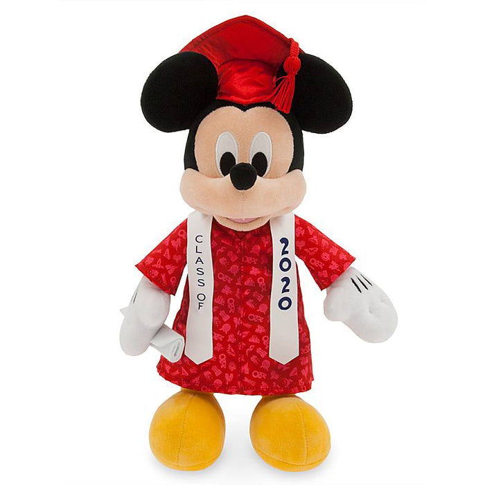 Disney Parks Mickey Mouse Graduation Class 2020 Plush New with Tags