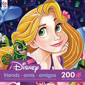 Disney Ceaco Tangled Flowers in Her Hair 200 Pcs Puzzle New with Box