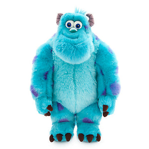 Disney Store Sulley Plush Monsters, Inc. Medium - 15'' Toy New With Tags