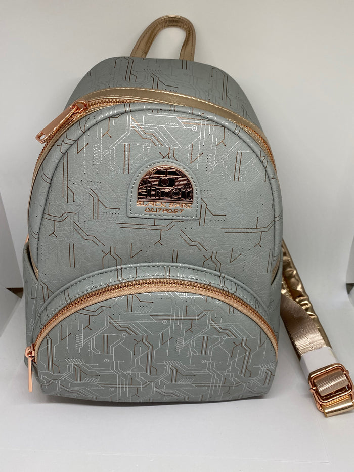Disney Parks Star Wars Galaxy's Edge Black Spire Outpost Mini Backpack New Tag