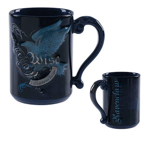 Universal Studios Wizarding World Harry Potter Ravenclaw Wise Coffee Mug New