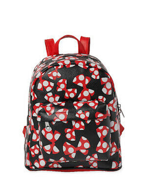 Disney Parks Minnie Mouse Large Bows Mini Backpack New with Tag