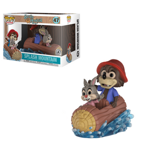 Disney Parks Exclusive Splash Mountain Ride Funko Pop Set New with Box