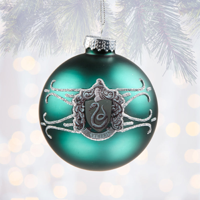Harry Potter Christmas Ornaments Universal Studios.Universal Studios Harry Potter Slytherin Ball Christmas Ornament New With Tags