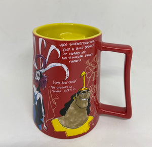 Disney 20th Anniversary Emperor's New Groove Ceramic Coffee Mug New