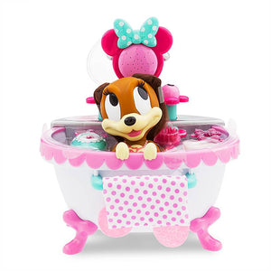 Disney Fifi Changes Color with Warm Water Pet Bath Play Set New with Box